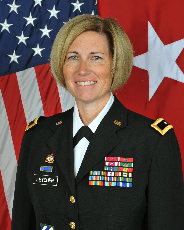 Brig. Gen. Michelle M.T. Letcher