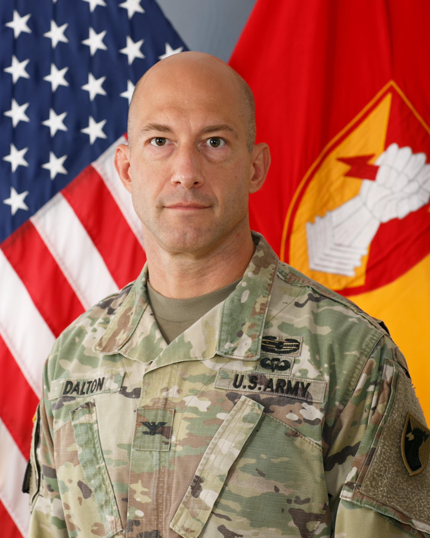 Col. Matthew W. Dalton