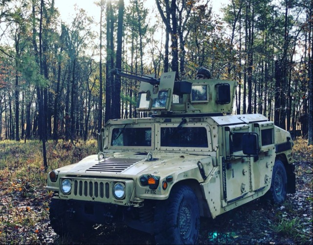 SFAB Soldier Provides Security During Defensive Operations