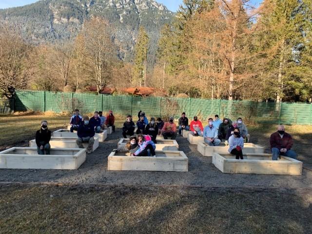 Eagle Scout service project in USAG Bavaria Garmisch