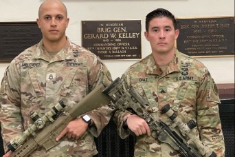 NY Guard teammates ready for National Guard sniper challenge
