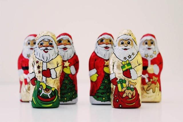 Santa Holiday Chocolate