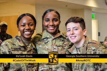 Cadet of the Week: Ka'Leah Davis