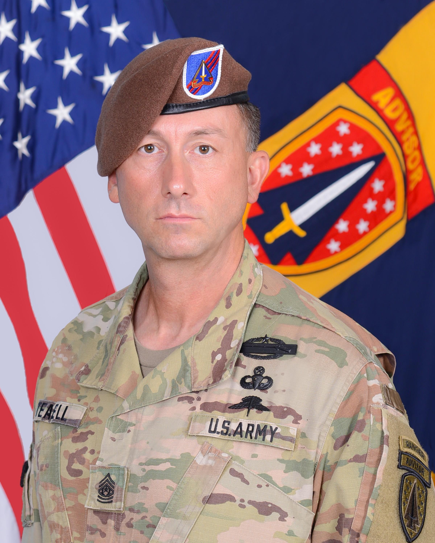 Command Sergeant Major Reese Teakell