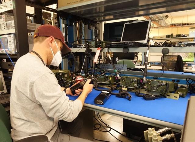 Tactical Radios C5ISR Integration Lab