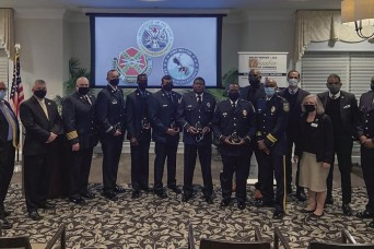 Police, firefighters recognized at chamber event