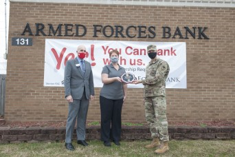 Fort Knox branch of Armed Forces Bank earns Army Bank of the Year award