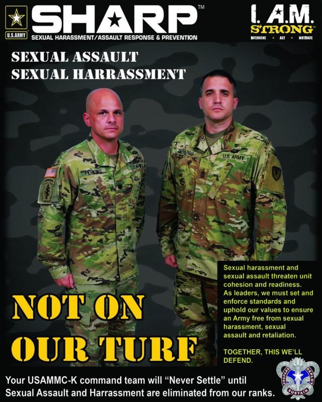 USAMMC-K SHARP poster