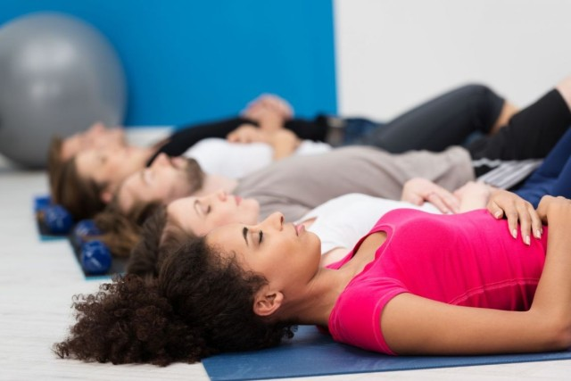 It's easy to sometimes become stressed during the holidays. To combat this stress, individuals should take time out to relax and rid their body of tension.
