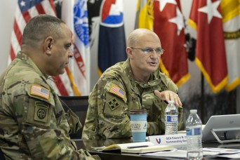 Gen. Daly lauds USAFMCOM's operational efforts in first visit