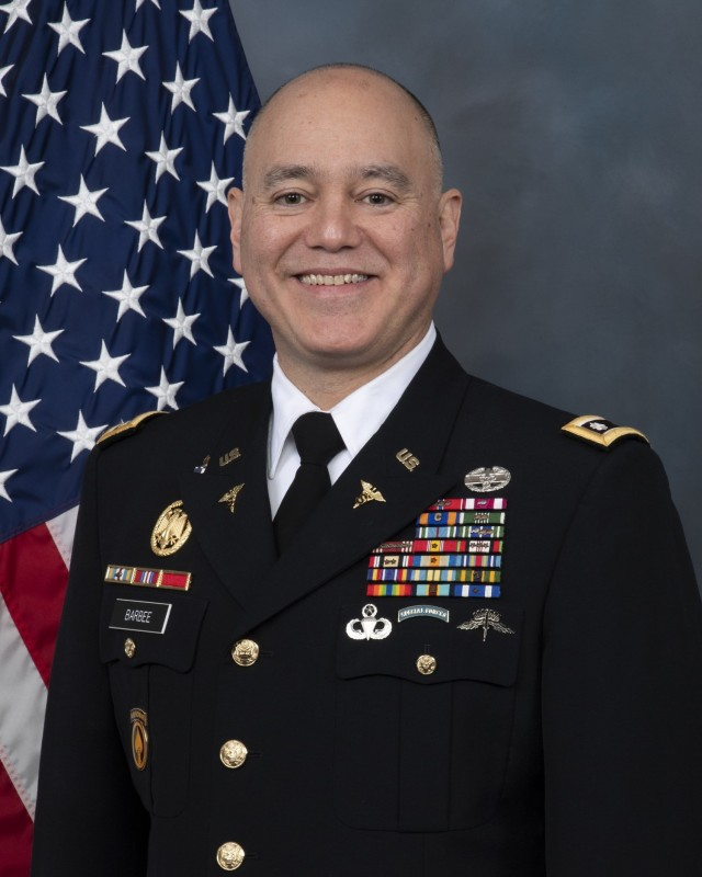Army Medical Specialist Corps officer Lt. Col. George A. Barbee has been selected as this year's recipient of the Andrew Craige Allied Health Professional Award.