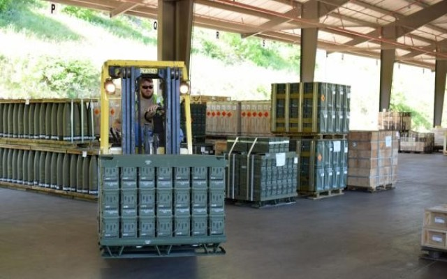 CAAA, a JMC subordinate installation, distributes munitions to the Joint Warfighter.