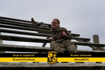 Cadet of the Week: Kayla A. Lippincott