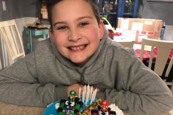 Japanese gift from Camp Zama brightens Idaho boy's birthday