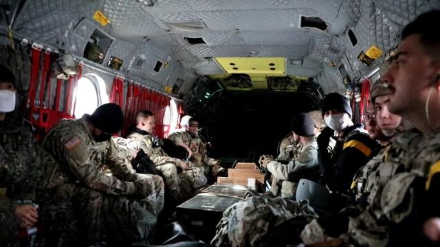 135th FRST Team on CH-47