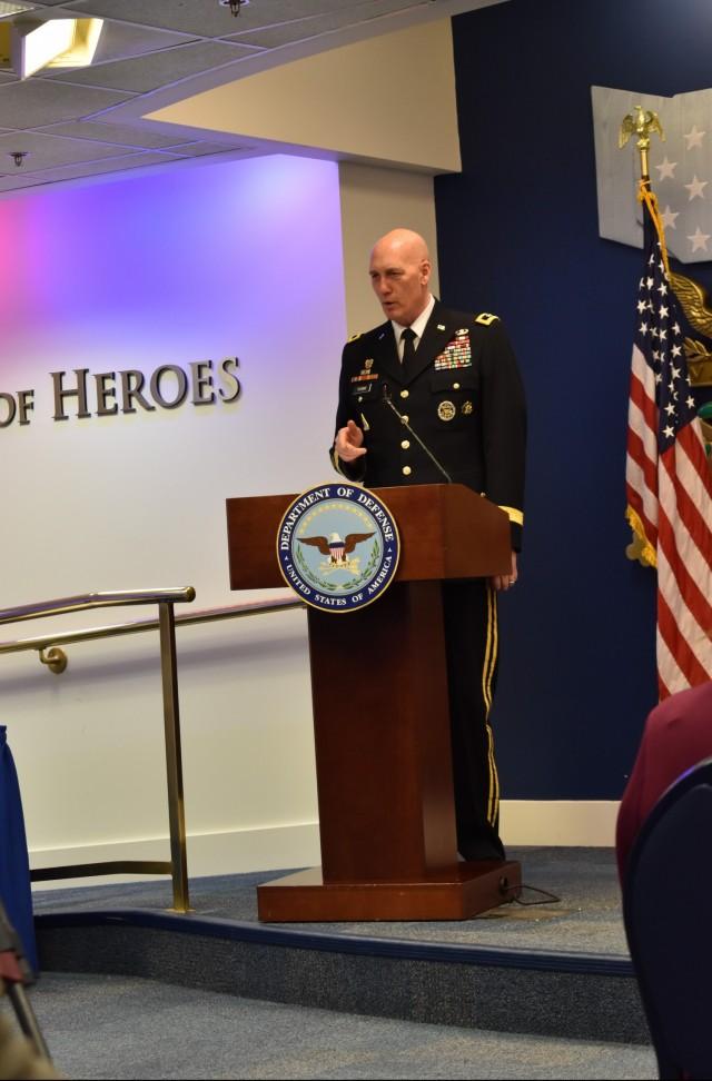 Maj. Gen. Thoms promotion ceremony - Remarks