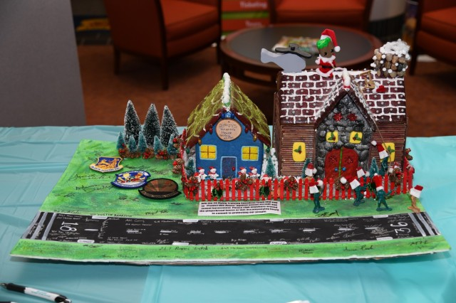 USAACE announces command gingerbread house winners