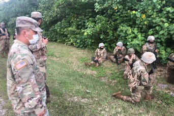 University of Guam ROTC instructor goes through quarantine process to ensure Cadets are trained