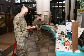 Gingerbread house contest highlights commitment to protecting Soldiers