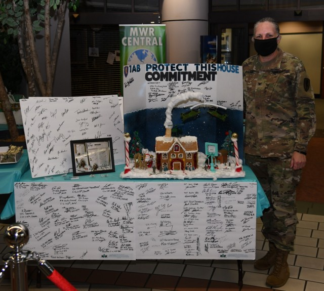 USAACE announces command gingerbread house contest winners