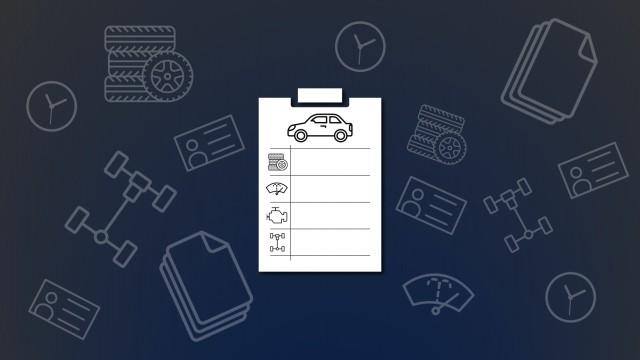 Vehicle Registration Checklists