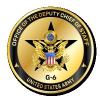 Army Deputy Chief of Staff, G-6 (DCS G-6) logo