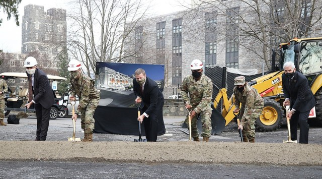 The groundbreaking for the construction of the Cyber Engineering & Academic Center took place Friday at West Point. The Center is expected to be finished by 2025.