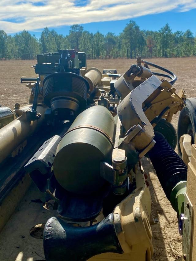 Artillery Is Prepared