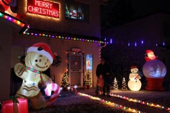 Camp Zama and Sagamihara Family Housing Area alight with holiday spirit