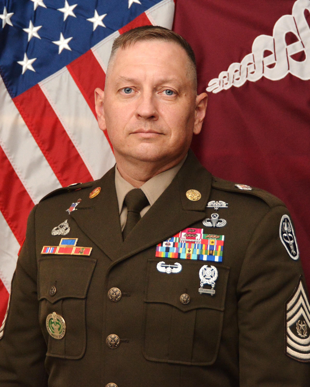 Command Sgt. Maj. Timothy J. Sprunger