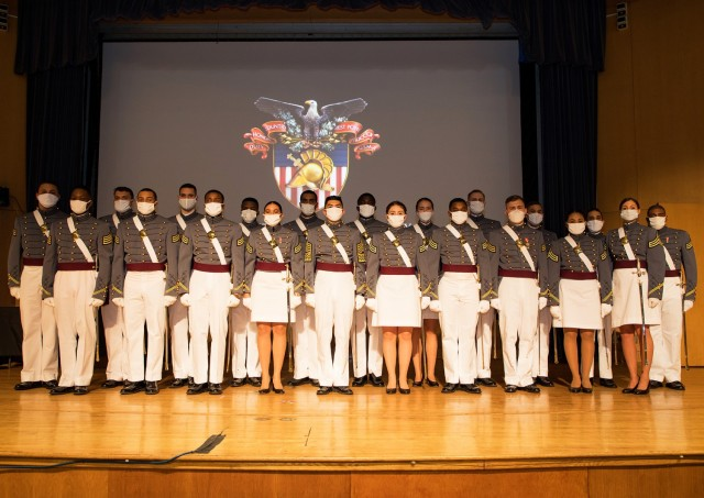 The remaining 21 Class of 2020 cadets showed resiliency and courage as they stood triumphantly at Robinson Auditorium in Thayer Hall during their graduation ceremony on Dec. 10. The cadets filled their seats and listened as Brig. Gen. Cindy R. Jebb, the 14th Dean of the Academic Board, gave her speech commending the cadets for developing their mental fortitude during the pandemic year. They are now second lieutenants in the U.S. Army and will proceed to their Basic Officer Leader Course.