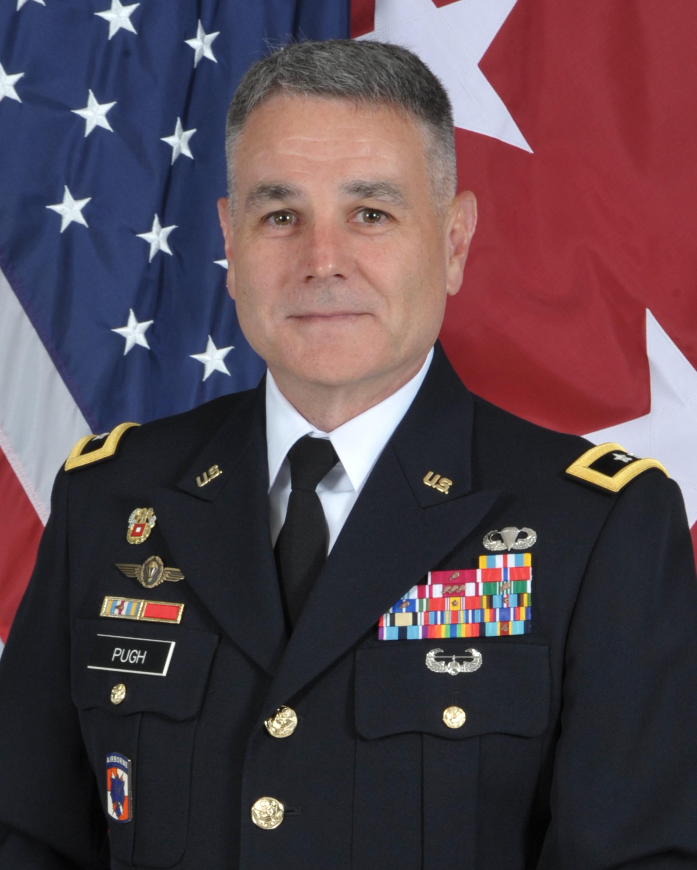 Major General Thomas Pugh