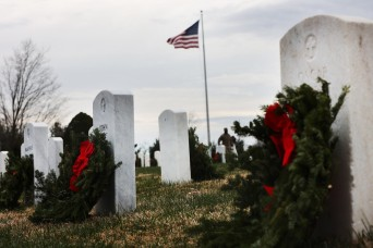 Hundreds attend Dec. 19 Wreaths Across America event at Fort Knox cemetery