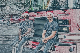 JBM-HH firefighters adopt local family for Christmas