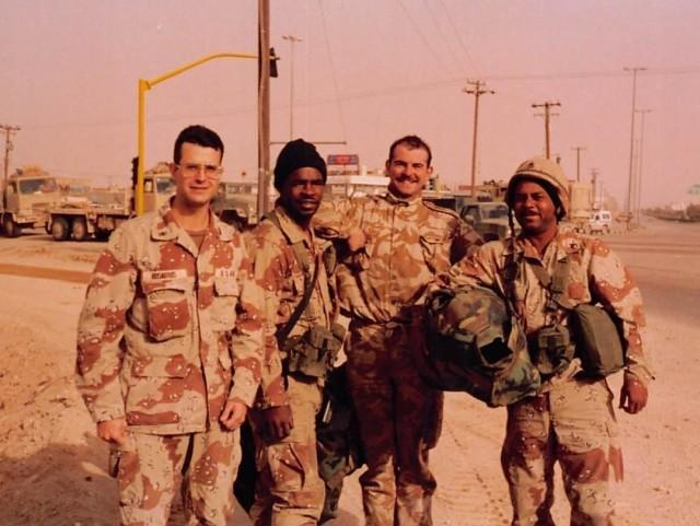 Rosarius deployed to Operation Desert Storm
