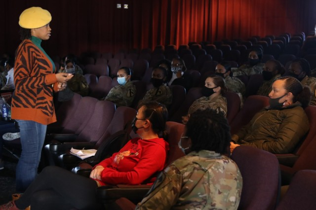 "2nd Armored Brigade Combat Team leadership kicks off ""Sisters in Arms"" a Brigade Female Mentorship Program Dec. 17 at Fort Hood, Texas. The program's intent is for young female Soldiers to find a mentor, offer coping mechanisms, help them build resilience and help them understand all the resources available to them."