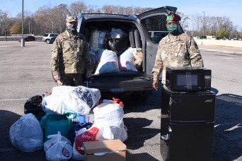 SMDC NCOs host donation drive