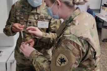 Michigan Guard supports COVID-19 vaccination effort