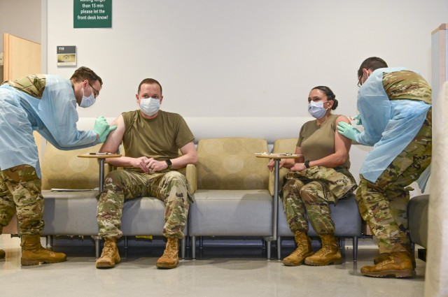 COVID-19 vaccinations begin for the Stuttgart military community