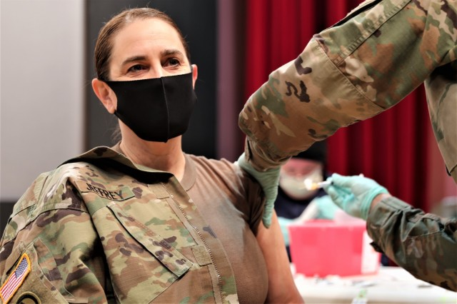 COVID-19 vaccinations begin for the Hohenfels military community