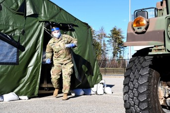 New Hampshire Guardsmen activated at 13 vaccination sites