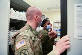 Vicenza Soldiers prepare for COVID-19 vaccine