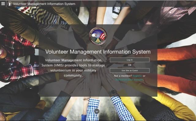 Army Family Web Portal VMIS Screenshot