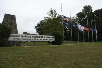 Michigan National Guard helps keep veterans safe