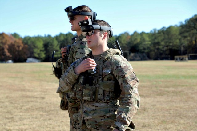 DEVCOM researchers  discovered a new technique for AR to overcome bright lighting conditions during the day by using low contrast dimming highlights. They said this opens up new research questions that will improve warfighter AR and heads-up display performance in outdoor operations.