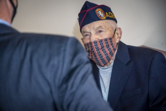 World War II vet, POW who endured 'Hell Ship,' gets CIB, promotion, POW medal