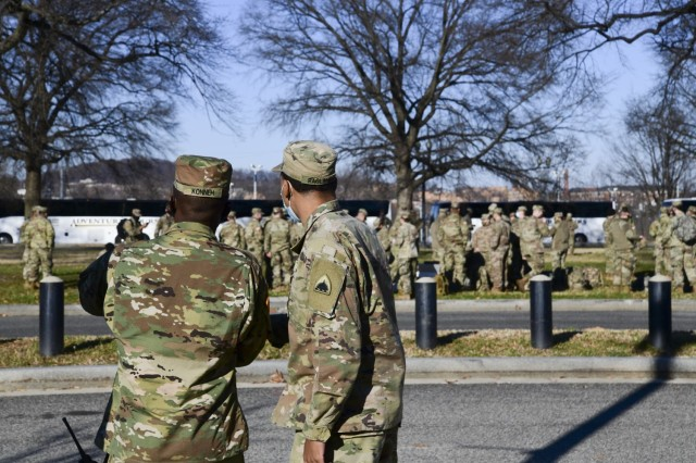 DOD details National Guard response to Capitol attack