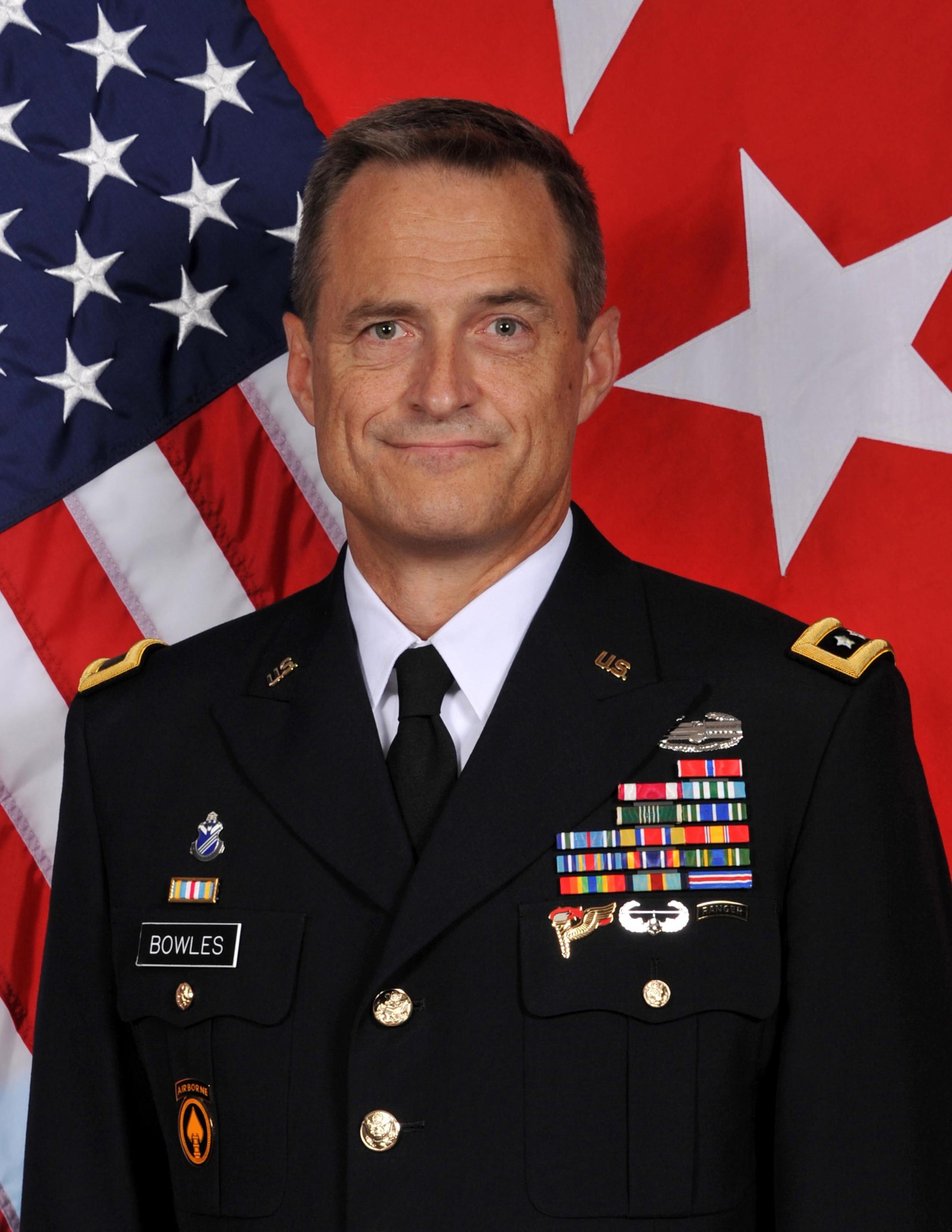 Maj. Gen. Tripp Bowles