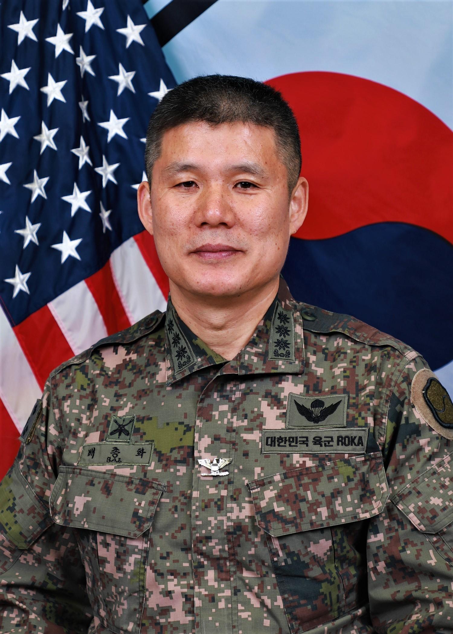 Col. Jonghwa Bae