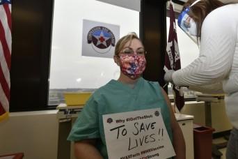 Fort Leonard Wood begins COVID-19 vaccination program